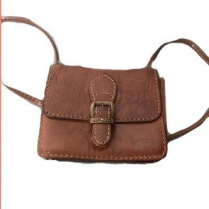 The Trend- Brown leather mini bag